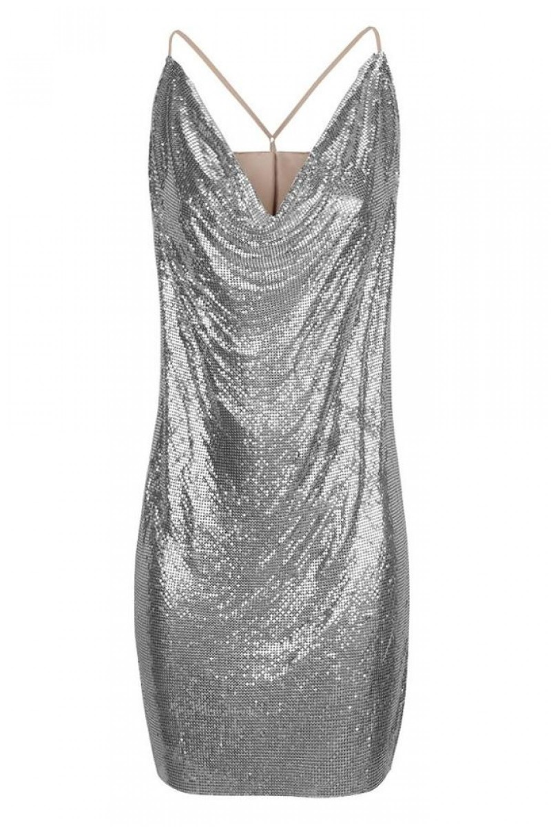 Robe Pull & Ours Argent