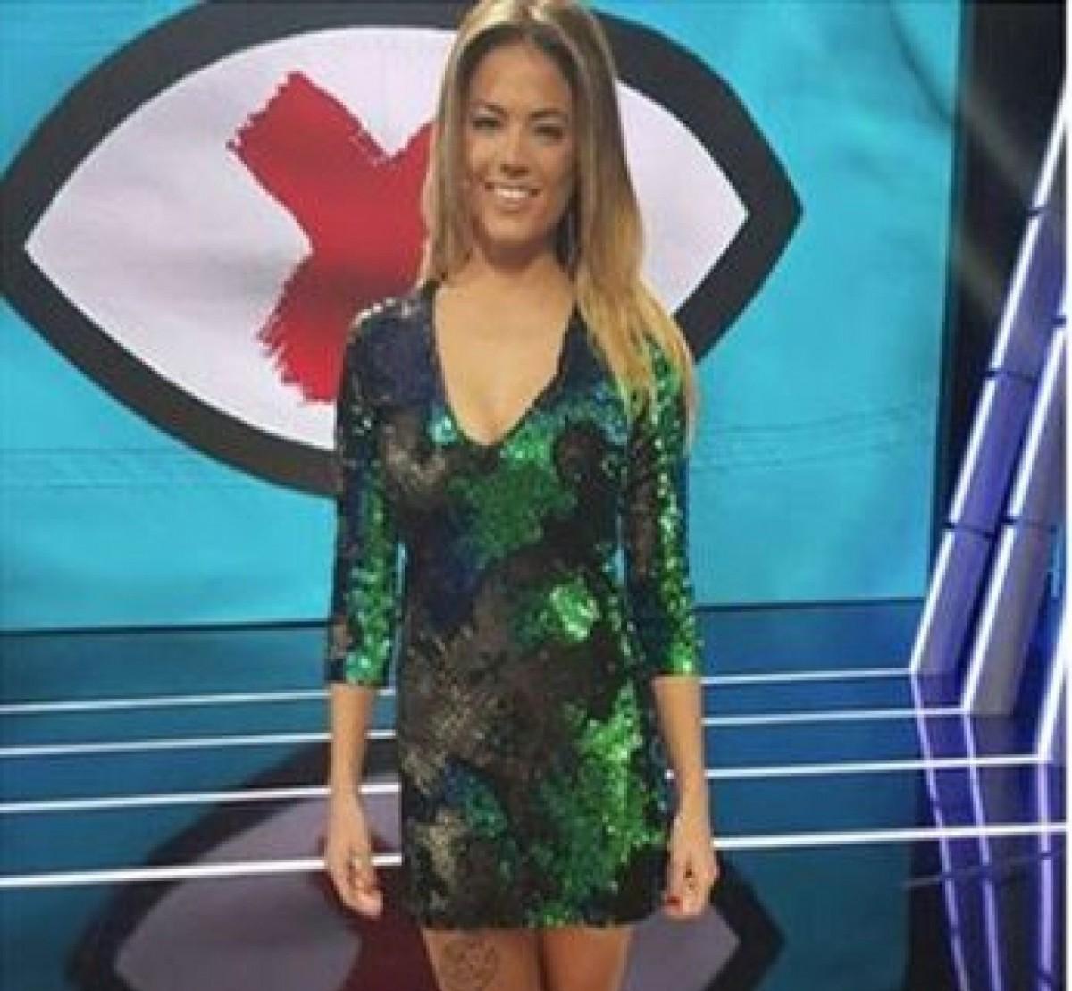 """Alyson Eckmann avec la robe à sequins de Zara dans le débat sur la """"révolution GH"""""""