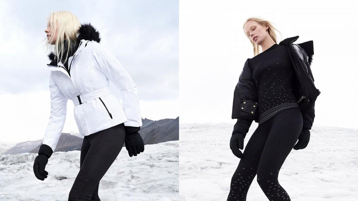 """Quelques """"looks"""" de la nouvelle collection de ski Oysho"""
